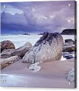 Whitepark Bay, Co Antrim, Ireland Rocks Acrylic Print
