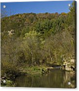 Whitewater River Scene 20 A Acrylic Print