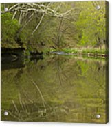 Whitewater River Spring 13 Acrylic Print