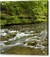 Whitewater River Spring 8 A Acrylic Print