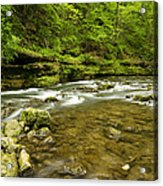 Whitewater River Spring 8 C Acrylic Print