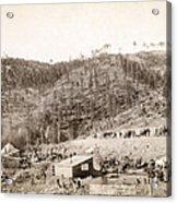 Whitewood Canyon, Wade And Jones R.r Acrylic Print