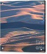 Whitman County Granary At Sunset Acrylic Print
