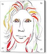 Whitney Houston A Memory Acrylic Print