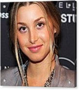 Whitney Port In Attendance For Gen Arts Acrylic Print