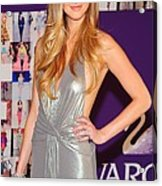 Whitney Port Wearing David Meister Acrylic Print