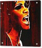 Whitneys Tears Acrylic Print