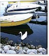 Who Says I Am Not A Boat I Do Float Acrylic Print