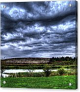 Wicked Wave Clouds Acrylic Print