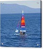 Wide Sail Acrylic Print