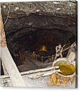 Wieliczka Salt Mine  Acrylic Print