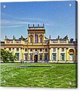 Wilanow Palace - Warsaw Poland Acrylic Print