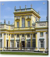 Wilanow Palace And Museum - Poland Acrylic Print