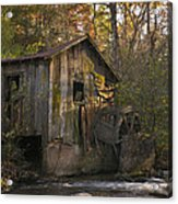 Wilbanks Mill On Dicks Creek Acrylic Print