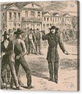 Wild Bill Hickok Was A Gunfighter Acrylic Print