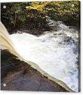 Wilderness Waterfall Autumn Stream Acrylic Print