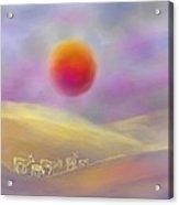 Wildfire Sunrise Acrylic Print