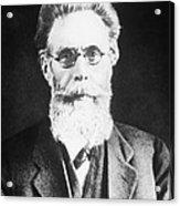 Wilhelm Roentgen, German Physicist Acrylic Print