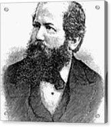 Wilhelm Steinitz (1836-1900) Acrylic Print