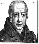 Wilhelm Von Humboldt Acrylic Print