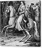 Wilhelmina Of Prussia Acrylic Print