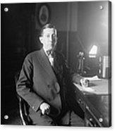 Will Hays 1879-1954, A Lawyer Acrylic Print by Everett