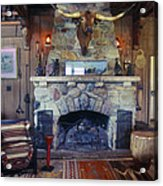 Will Rogers Home Acrylic Print