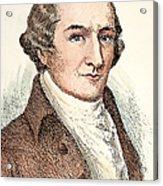 William Bradford (1722-1791) Acrylic Print