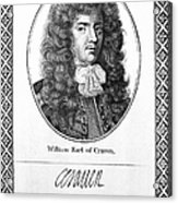 William Craven (1608-1697) Acrylic Print