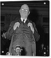 William Green 1873-1952, President Acrylic Print by Everett