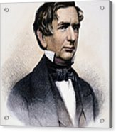 William Henry Seward Acrylic Print