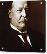 William Howard Taft - President Of The United States Acrylic Print by International  Images