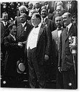 William Howard Taft 1857-1930 Receives Acrylic Print