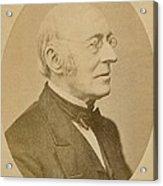 William Lloyd Garrison 1805-1879 Acrylic Print by Everett