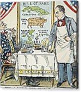 William Mckinley Cartoon Acrylic Print