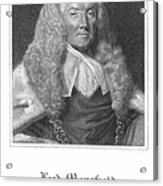 William Murray (1705-1793) Acrylic Print