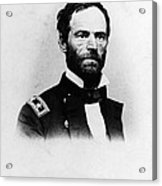 William Tecumseh Sherman, Union General Acrylic Print