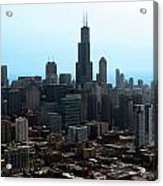 Willis Sears Tower 04 Chicago Acrylic Print