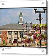 Willoughby City Hall Acrylic Print