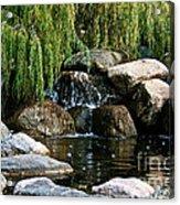 Willow Falls Acrylic Print