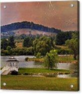Willow Lake Series II  Acrylic Print