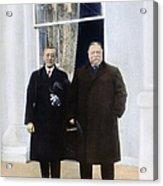 Wilson & Taft: White House Acrylic Print