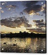 Wimbledon Sunset Acrylic Print
