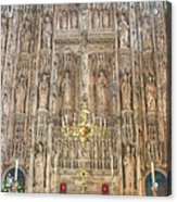 Winchester Cathedral High Altar Acrylic Print