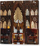 Winchester Cathedral Quire Acrylic Print