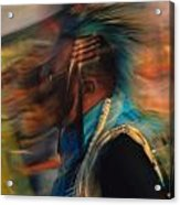 Wind Dancer Acrylic Print