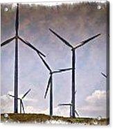Wind Farm IIi - Impressions Acrylic Print