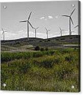 Wind Farm Iv Acrylic Print