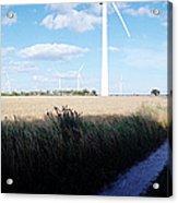 Wind Farm - Skaane Acrylic Print