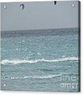 Wind Surfing Puerto Rico Acrylic Print